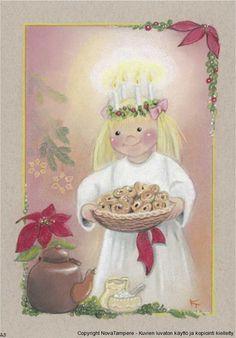 Добрые иллюстрации Kaarina Toivanen - Ярмарка Мастеров - ручная работа, handmade