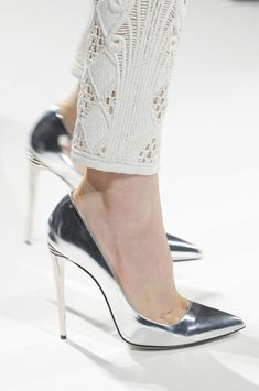 Balmain Spring 2013.  These are beautiful, but I could never wear them.