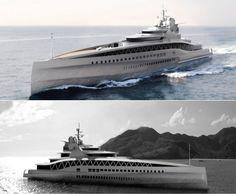 Fincantieri Yachts' Fortissimo mega-yacht