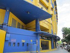 entrance to La Boca soccer stadium, Buenos Aires, Argentina