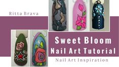 Sweet Bloom Nail Art Tutorial - How to Do 3D Nail Designs with Colored Gels