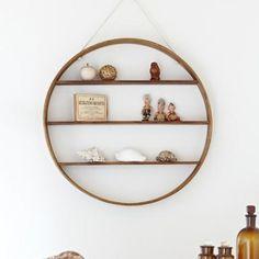 circle shelf (three shelves)