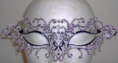 Swarovski crystal eyemask.  OH.MY.WORD.