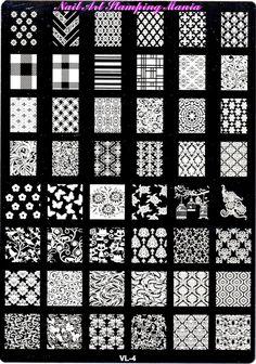 Nail Art Stamping Mania: AliExpress QSF VL-4 Plate Review  http://nailartstampingmania.blogspot.it/2015/01/aliexpress-qsf-vl-4-plate-review.html