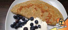 Fitness Recipes – Oatmeal pancake