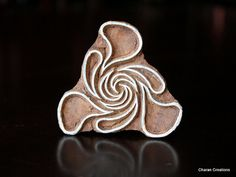 Pottery Stamps Indian Wood Stamp Textile Stamp by charancreations, $15.25