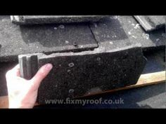 This handy video by a professional roofer shows you how to replace roof tiles [5:45 mins].
