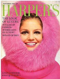 Harper's Bazaar #magazine #cover #60s #fashion #style #inspiration #retro