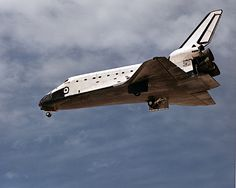 May 8, 1989. Space Shuttle Atlantis returned to Earth after mission STS-30 landing at Edwards Air Force Base, CA. | Photo credit: NASA