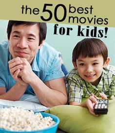 Mix-up your movie night and check out a new film—our list has 50 modern and classic family-friendly options to pick from!