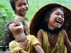 Pure joy...// Laughter ~ no language barriers ...