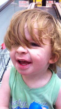 My cute littleman