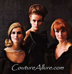 Couture Allure Vintage Fashion: 1963 Hair and Makeup