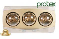 Đèn sưởi nhà tắm Protex PT03 3 bóng