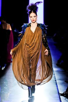 Jean Paul Gaultier Fall 2011 Couture Fashion Show - Coco Rocha