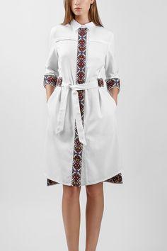 Сукня-сорочка HRW-DS03 - купити вишиті сукні в магазині