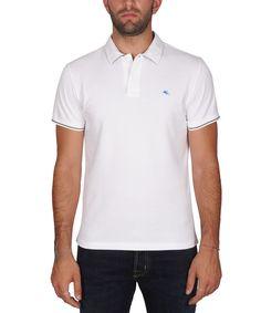 ETRO Etro Men'S  White Cotton Polo Shirt'. #etro #cloth #polos