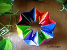 Origami Magic Ball Dragons Egg By Yuri Shumakov