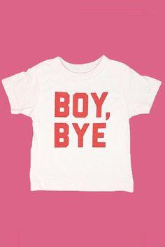 Boy, Bye Pink Toddler Tee