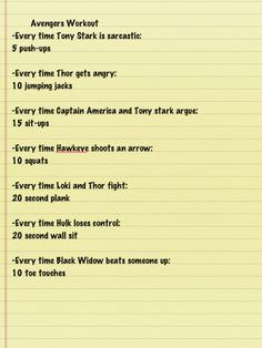 I love these movie workout plans! I did A LOT of squats though.... :)