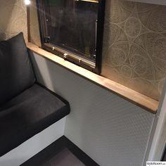 Renoverad husvagn Kabe 540 XL - Hemma hos marre_h Trailer Remodel, Teardrop Trailer, Camper Trailers, Tiny House, Bow Drawing, Rv, Home Decor, Camper Van, Gypsy Wagon