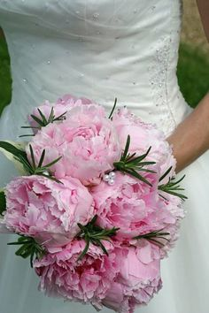 ramo peonias palo rosa