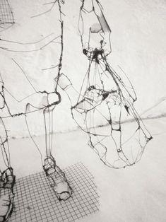 http://www.juxtapoz.com/news/wire-sculptures-by-david-oliveira/