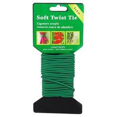 Drôt SoftTwist, 3 mm, m Gardening, Lawn And Garden, Horticulture