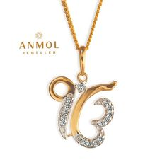 Pendant Design, Pendant Set, Diamond Pendant, Sikh Quotes, Gurbani Quotes, India Jewelry, Gold Jewellery, Guru Nanak Photo, Gold Bangles