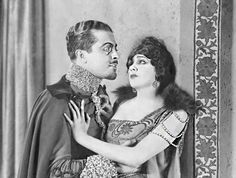 Barbara La Marr and Ramon Novarro in The Prisoner of Zenda 1922)