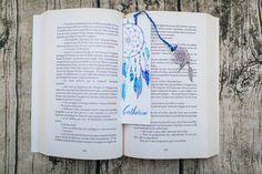 marque page Dreamcatcher par Avacalligraphie sur Etsy Envoyer Des Messages, Zentangle, Dream Catcher, Bullet Journal, Crochet, Etsy, Marque Page, Arches Watercolor Paper, Hobbies