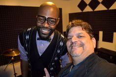 Phil & Benzel Baltimore Cowan Drummer of George Clinton's Parliament Funkadelic @ The Funkadelic Music Studio NYC