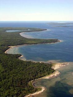 Coastline, Nearest Location: Northern Door County Wisconsin, Image Credit: Door County Visitor Bureau