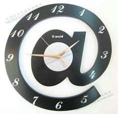 the alphabet mute wall chinese style clock-in Wall Clocks from Home & Garden on Aliexpress.com