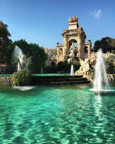 #parcdeciutadella #turquoisewaters