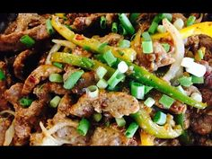 Delicious and Easy Pepper Steak in English - YouTube
