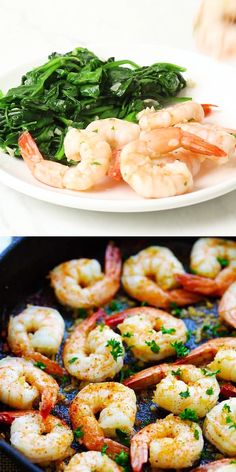 Easy garlic shrimp with frozen shrimp, garlic butter, lemon juice and cayenne pepper. One of the best shrimp recipes ever that takes only 10 mins to make. Frozen Cooked Shrimp, Frozen Shrimp Recipes, Cooked Shrimp Recipes, Best Shrimp Recipes, Shrimp Recipes For Dinner, Fish Recipes, Seafood Recipes, Healthy Dinner Recipes, Appetizer Recipes