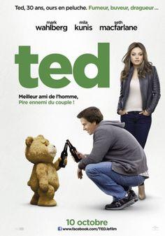 À 8 ans, le petit John Bennett fit le voeu que son ours en peluche de Noël s'anime et devienne son meilleur ami pour la vie, et il vit son voeu exaucé. Presque 30 ans plus tard, l'omniprésence de Ted aux côtés de John pèse lourdement sur sa relation amoureuse avec Lori. Déchiré entre son amour pour Lori et sa loyauté envers Ted, John lutte pour devenir enfin un homme, un vrai !   Bande-annonce :   http://www.cinemovies.fr/film/ted_e453437/videos/1