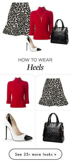 """""""Frilled!"""" by lollahs on Polyvore featuring Finders Keepers, Dolce&Gabbana and Stella & Dot"""