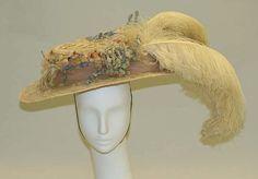 Hat ca. 1904 via The Costume Institute of the Metropolitan Museum of Art