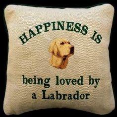 happy <3 #dog yellow lab