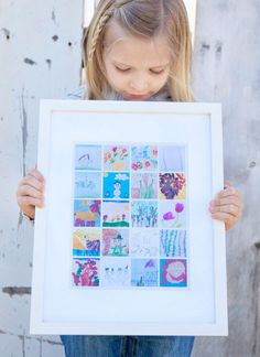 We've found 12 brilliant ways to artfully display your kid's massive pile of finished masterpieces. You and your fridge door will be thanking us in no time.