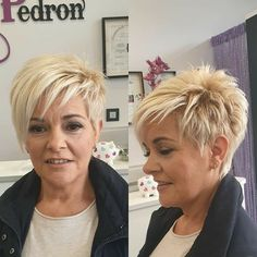 Short White Hair, Short Choppy Hair, Funky Short Hair, Short Hair Older Women, Short Hair Styles Easy, Short Hair With Layers, Choppy Pixie Cut, Cute Hairstyles For Short Hair, Hair Beauty