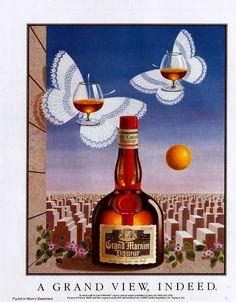 1986 Advertisement for Grand Marnier