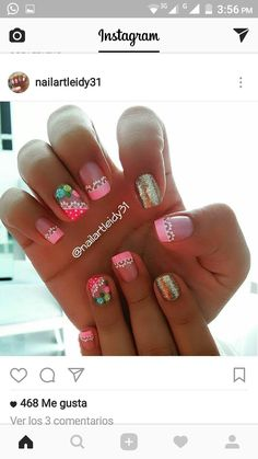 Cute Pedicure Designs, Nail Designs, Cute Pedicures, Nail Spa, Mani Pedi, Shellac, Winter Nails, Fun Nails, Iphone