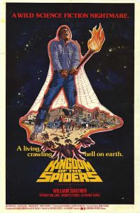 """Kingdom of the Spiders,"" 1977, starring William Shatner"