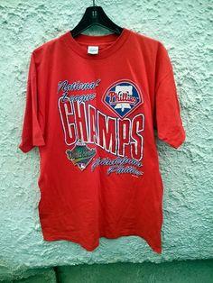 730ebff89518a9 1993 Philadelphia Phillies National League Champions t shirt UNWORN Size  adult XL