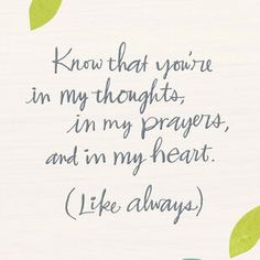 Let them know you're thinking of them with this encouragement card from Hallmark. Greeting card features colorful abstract art of leaves with gold foil accents. Good for sympathy, illness and other thinking-of-you occasions. Thinking Of You Quotes Sympathy, Sympathy Card Quotes, Sympathy Messages, Sympathy Gifts, Get Well Quotes, Get Well Sayings, Fonts Quotes, Hug Quotes, Good Luck Interview
