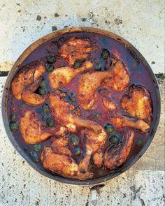 hunters chicken stew (pollo alla cacciatora) food-and-drink