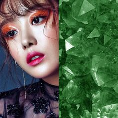 BirthStones&KPOP // Emeralds // Jieun of secret